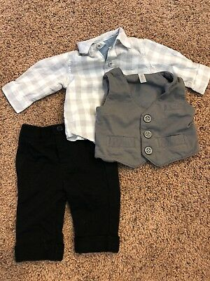 0-3 Baby Boy Outfit