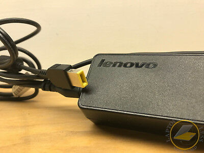 OEM Lenovo 65w AC Adapter - Flat / Square Tip 45N0478
