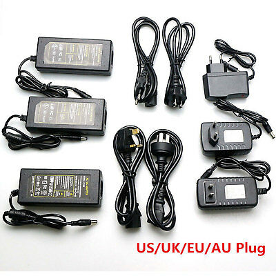 AC110V 220V Power Supply Adapter Transformer LED Strip DC 5V 12V 24V 2A 3A 5A 8A