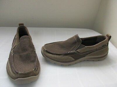 8ec68e81db7d New Men s Skechers Relaxed Fit Superior Milford Casual Shoes 64365 LTBR 49d  dc