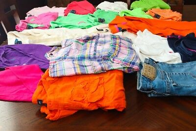 Complete Lot Of Girls, Ralph Lauren Clothing (Sizes 7, 8/10 & 10/12) 20 Pieces