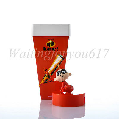 Disney: Incredibles 2 Movie Theater Exclusive Jack Doll Hub Cup 22 oz Collection