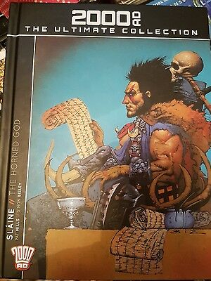2000AD Ultimate Collection Slaine The Horned God Signed by Boo Cook