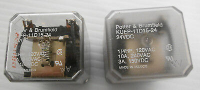 NEW Tyco Electronics KUEP-11D15-24 General Purpose Relay 24 VDC 1//4HP Free Ship