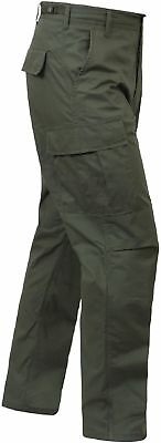 Od Green Mens 5935 Rothco Bdu Pants Military Tactical 100%cotton Ripstop Xs- 3X