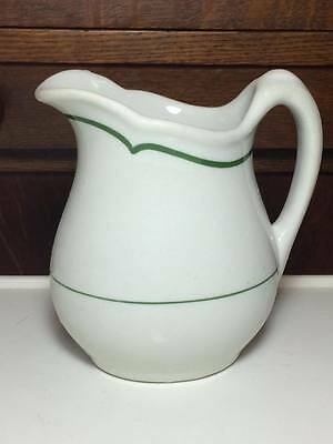 Buffalo China hotel ware cream pitcher made in USA