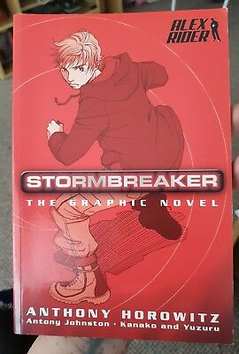Walker Books Alex Rider Stormbreaker Movie TPB Graphic Novel Anthony Horowitz