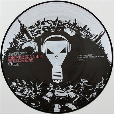 """12"""" The Outside Agency & Mindustries Forever Is A Long Time Genosha 015 NEU !!!"""