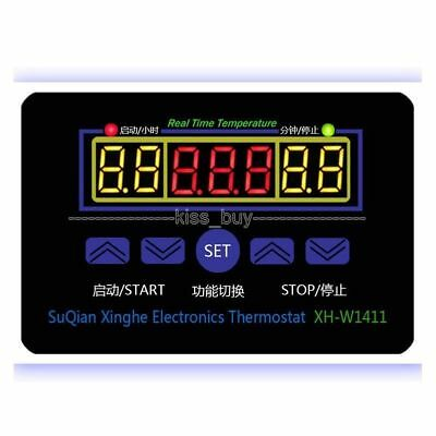 DC 12V Electronic Thermostat 10A LED Multifunction Temperature Controller+Probe