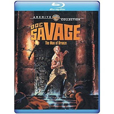 Doc Savage: The Man of Bronze (1975) (bd)  (US IMPORT)  Blu-Ray NEW