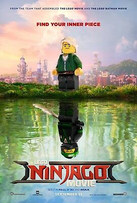 Lego Ninjago - original DS movie poster - 27x40 D/S 2017 Advance