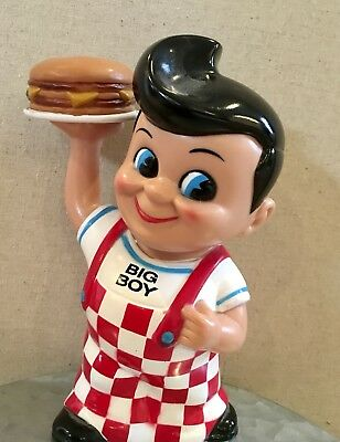 Funko Product Big Boy Coin Bank 1999 Elias Frisch's Bobs Restaurants Great Cond.