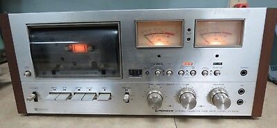 Pioneer CT-F9191 Tape/Cassette Deck - Powers Up w/Lights - Parts or Repair PLAYS