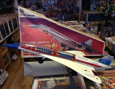 """Air France Concorde Model. AA Toys (Greece). 18"""" BOXED CONCORDE. FREE UK POST."""