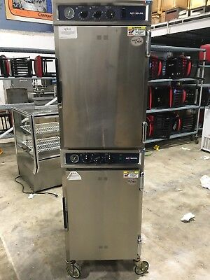 Alto Shaam 1000-TH/II Double Stack Cook and Hold Heated Cabinet WORKS GREAT!