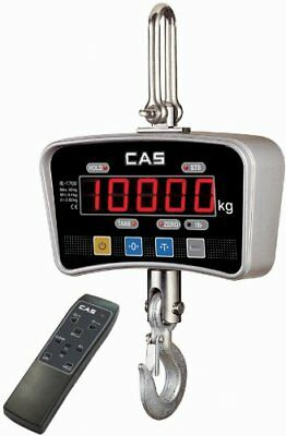 CAS IE-2000E, LED Crane Scale, 2000 lbs x 1 lbs With Remote