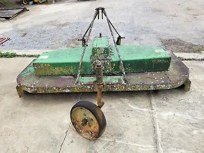 "John Deere 7' 507 Gyramor Rotary Cutter ie - Brush Bush Hog Mower Foot 84"" Feet"