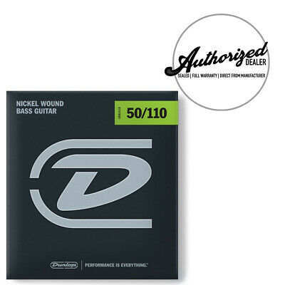 50 70 90 110 Bass Guitar Strings Unsilked Rotosound RB50 Nickel