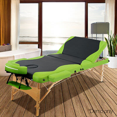 Portable Wooden Massage Table, sent from NSW