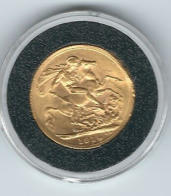 1914 Brittish Gold Sovereign