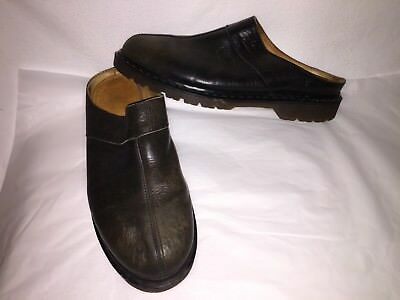Dr Martens The Original Men's12 Brown Leather Slip On Scuffs Loafers England