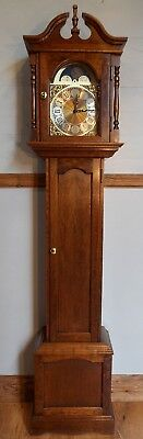 Grandfather Clock-Exc Cond/Hermle West Chime/NATIONWIDE PERSONAL DELIVERIES