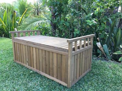 Wood Storage box outdoor wooden Somerzby Oasis Garden Pet Furniture chest bench