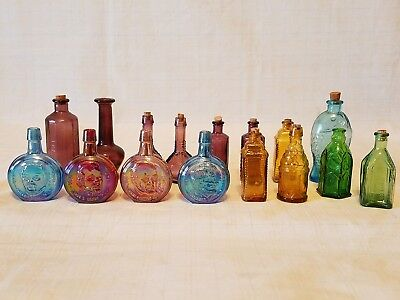 Wheaton Bottles - mixed lot of 16 -  Presidental and others
