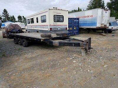20' Heavy Equipment Trailer