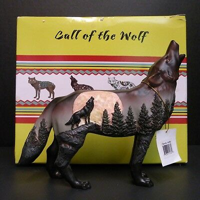 "Westland Giftware Call of the Wolf ""Moonlight Sonata"" 2010 Item # WG-14166"