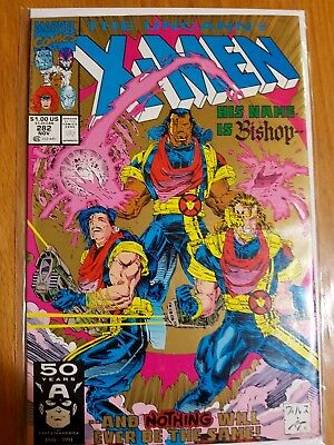 The Uncanny X-Men #282 (Nov 1991, Marvel) 1st appearence of Bishop 2nd print