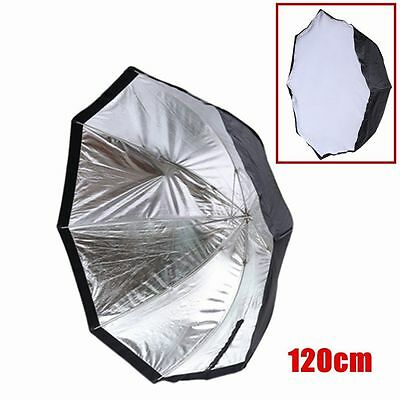 "Neewer 47""/120cm Octagonal Umbrella Softbox for Speedlite / Studio Flash USA BT"