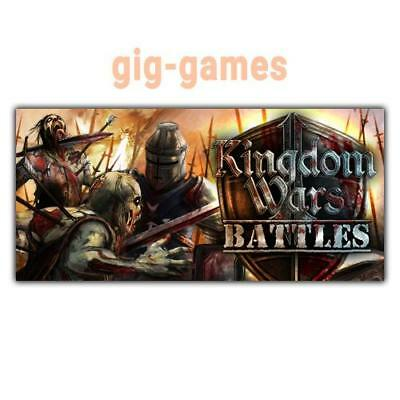 Kingdom Wars 2: Battles PC spiel Steam Download Digital Link DE/EU/USA Key Code