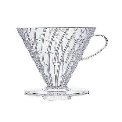Hario V60 Coffee dripper 03 Clear VD-03T for 1 to 6 cups Japan