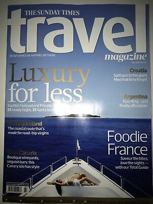 The Sunday Times - Travel Magazine - Issue 174 - July 18' - Brand New