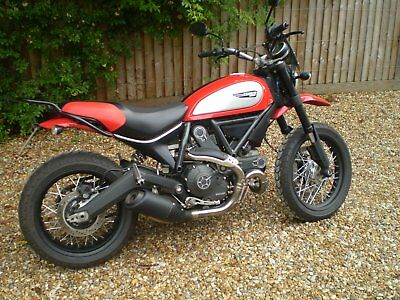 Ducati Scrambler icon 64 plate - loads of extras - unique styling - low mileage