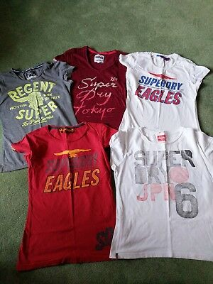 superdry t shirts bundle small 10