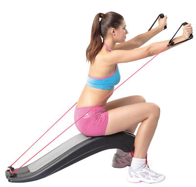 Multifunktion Board I Fitness Board abnehmbare Tubes I Bauchtrainer Sit up Bank