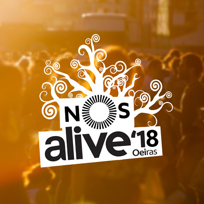 SOLD OUT - NOS ALIVE 2018 Portugal - Full Ticket for 3 days festival