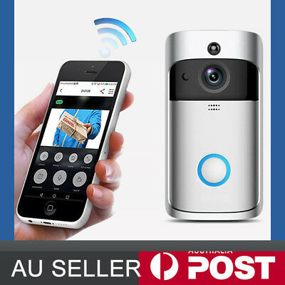 Smart Wireless WiFi Intercom Smart Home HD Video DoorBell Camera Remote Phone