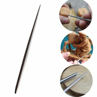 New Stainless Steel Detail Needles Pottery Modeling Carving Clay Sculpture Tools