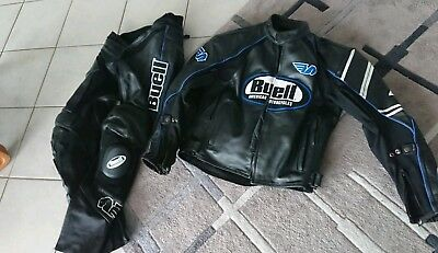 Buell motorcycle 2 piece leather race suit