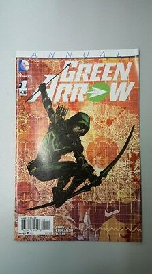 DC Comics: Green Arrow - Annual #1 (2015) - BN - Bagged and Boarded
