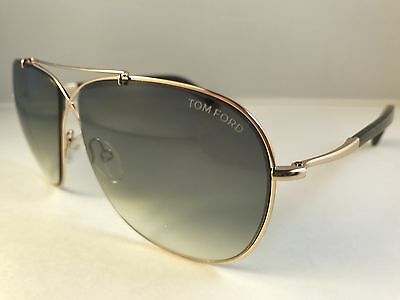 4951b1c40031 New Authentic TOM FORD sunglasses TF 393 28P APRIL gold Aviator NWT