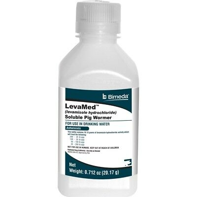 LEVAMED SOLUBLE PIG WORMER - 001-1LEV003(Pack of 1)