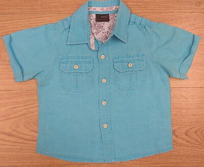 Next Baby Boys Shirt Age 12-18 Months