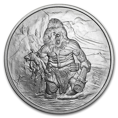 1 oz Silver Round - Nordic Creatures: Frost Giant BU - SKU#168884