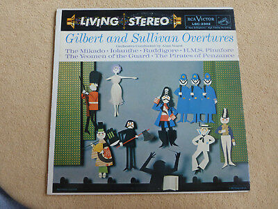 Gilbert & Sullivan Overtures - cond. by Alan Ward - RCA LSC-2302  (0972)