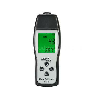 Portable Laser Digital Photo Tachometer Non Contact RPM Tach Tester Meter S6D4