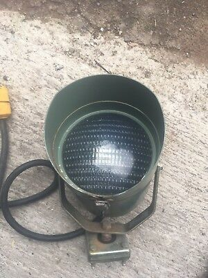 Vintage LIGHT Lamp Aircraft airport Runway Phoenix Sturdilite Steam Industrial